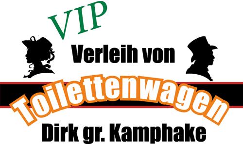 Toilettenwagen mieten - Logo Toilettenwagen-Kamphake